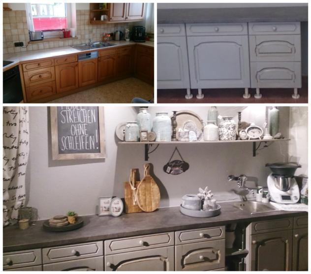 Küche streichen, Küche renovieren mit Annie Sloan Chalk Paint