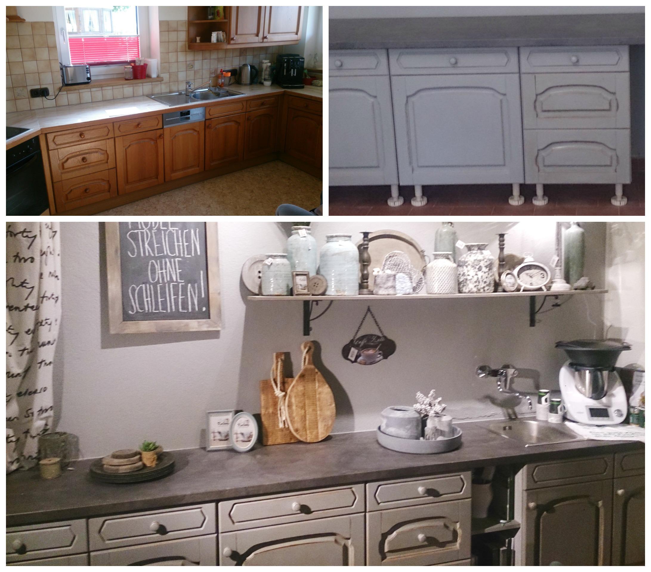 Bilder DIY Möbel vorher - nachher