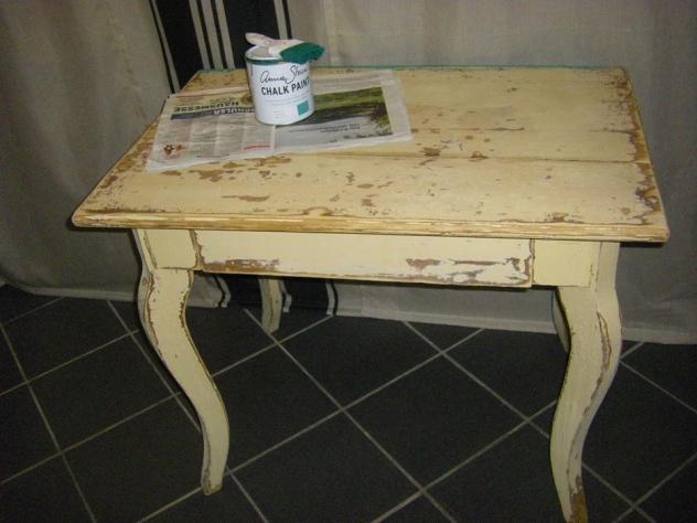 Altes Tischchen, Shabby Chic, Das Ideenreich