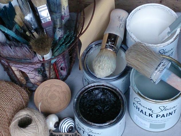 Annie Sloan Chalk Paint in Fieberbrunn, das Ideenreich