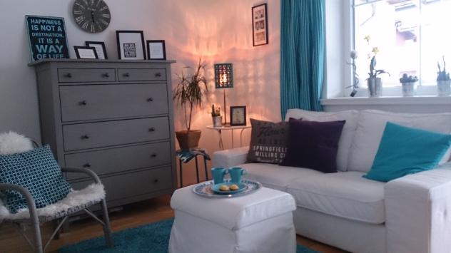 Wohnzimmer Low Budget