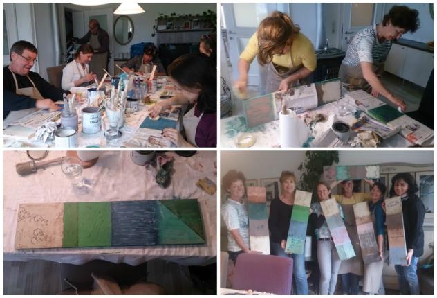 Kreidefarbe Workshop Annie Sloan Chalk Paint